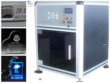 China Computerized 3D Glass Engraving Machine , 3D Laser Glass Etching Machine supplier
