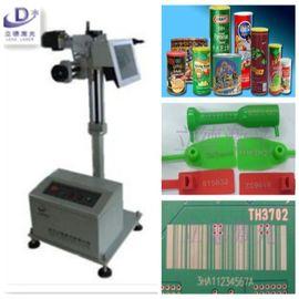 25 W Flying Laser Marking Machine For Nonmetal Long Operating Life