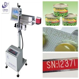 China 15W UV Flying Laser Marking Machine For Medical Containers And Nonmetal Materials supplier
