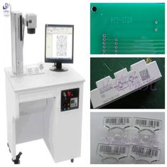 China Desktop 3D Fiber Laser Marking Machine For Plastic Components Long Service Life supplier
