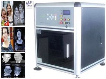 Rapid Scanner 3D Laser Glass Engraving Machine Mini Structure 532 nm Laser Wavelength